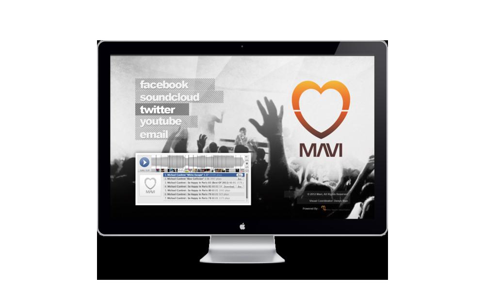 Mavi Website Design